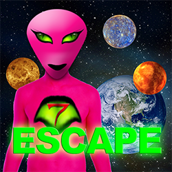 Pink Alien Escape